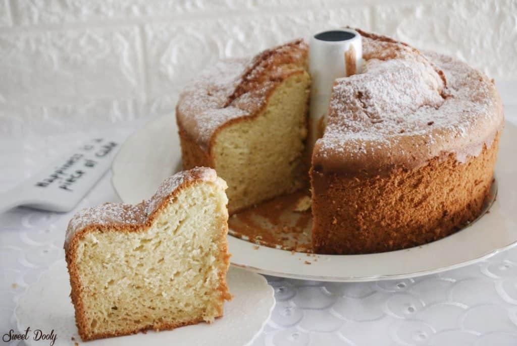 עוגת תפוזים גבוהה במיוחד פרווה
