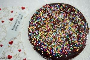 עוגת שוקולד ללא ביצים טבעונית פרווה