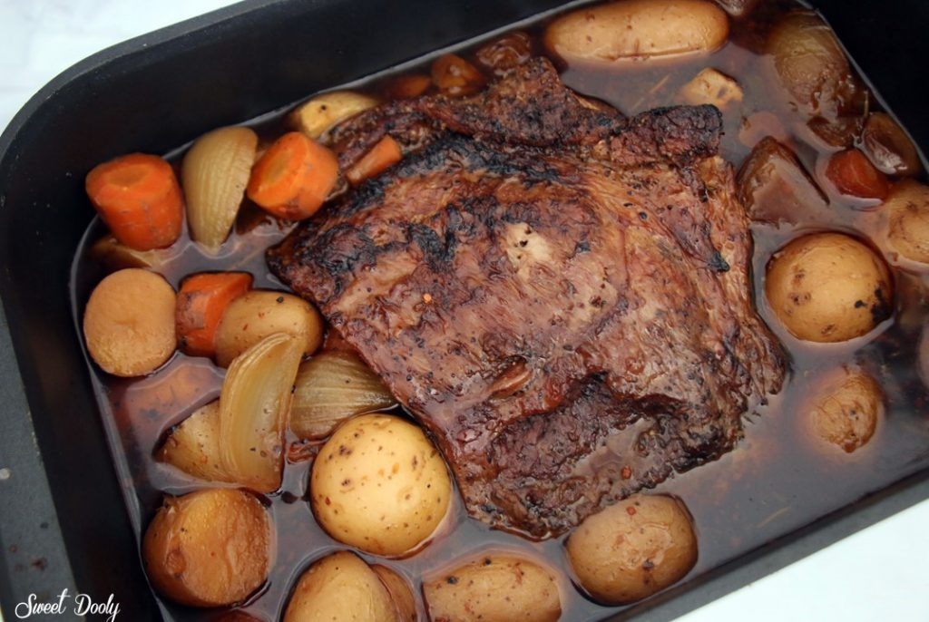 אסדו בתנור עם ירקות קל הכנה