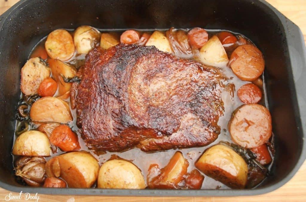 מתכון לבריסקט בתנור רך ועסיסי