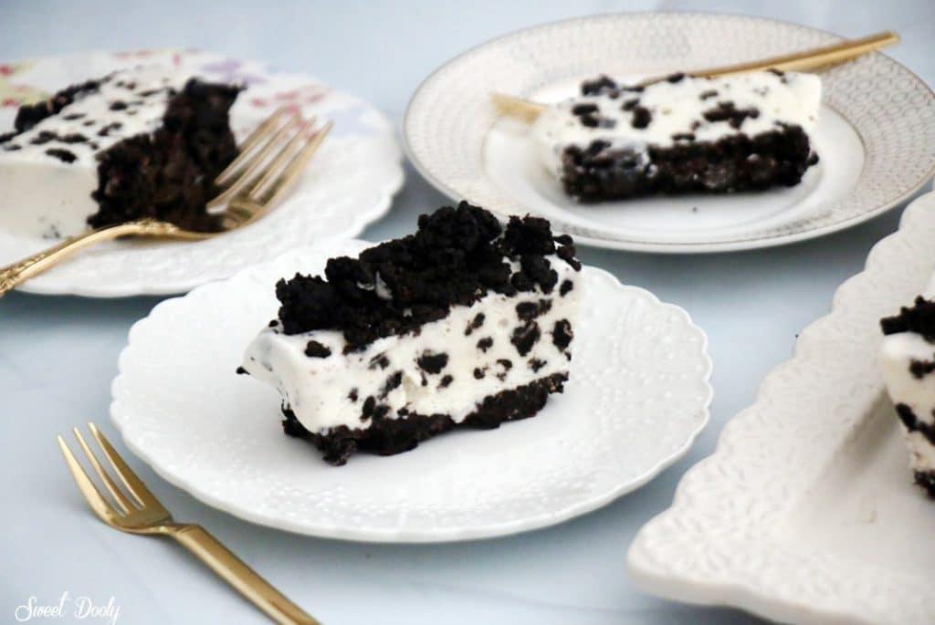 עוגת גלידה אוראו קלה להכנה