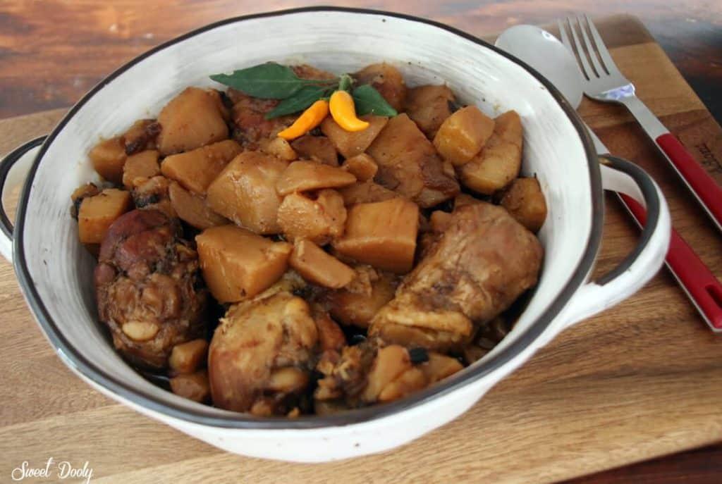 סופריטו עוף ותפוחי אדמה חומים