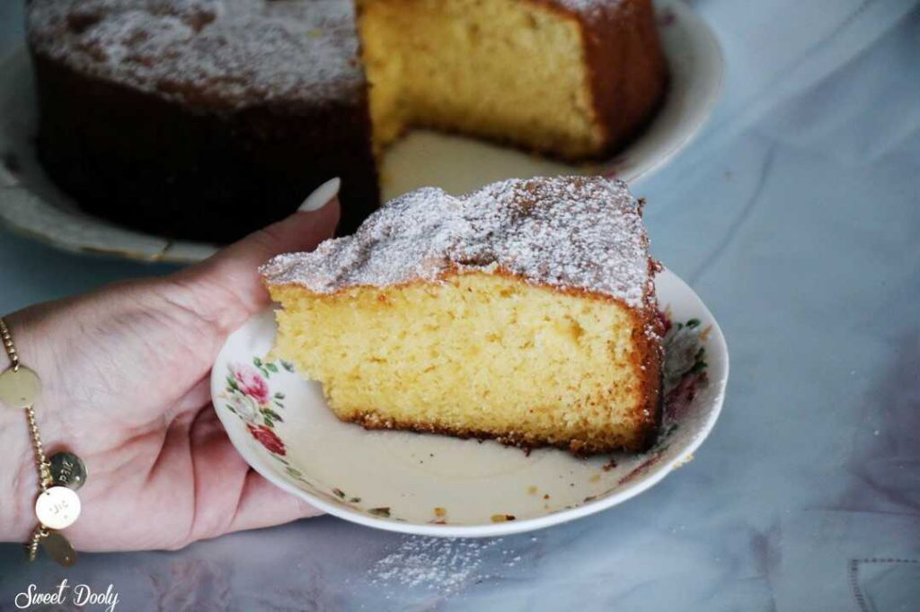 עוגת תפוזים עננים אוורירית ורכה