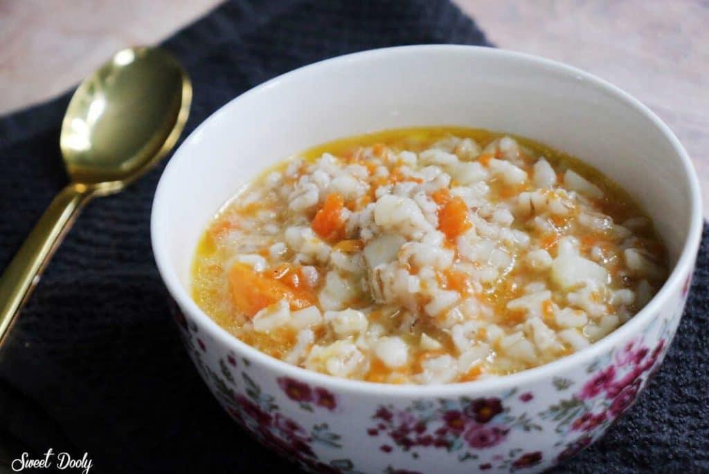 מרק גריסים עם ירקות סמיך וטעים