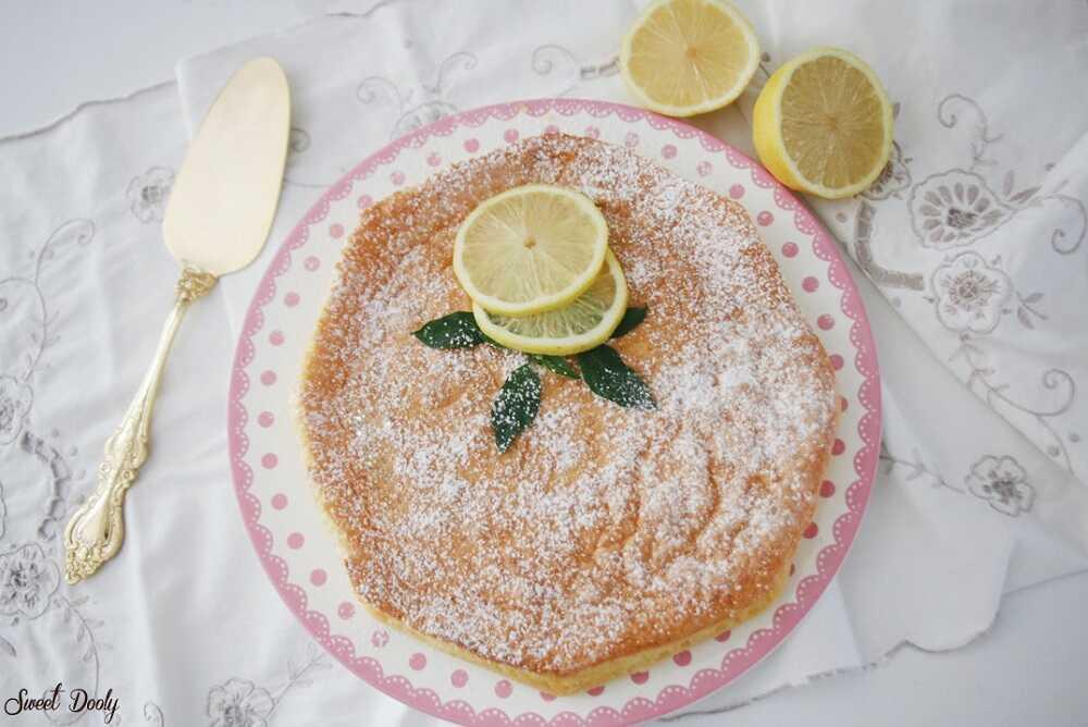עוגת לימון פרווה עוגת הקסם