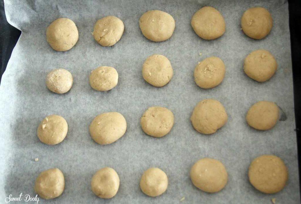עוגיות טחינה פרווה פריכות וטעימות