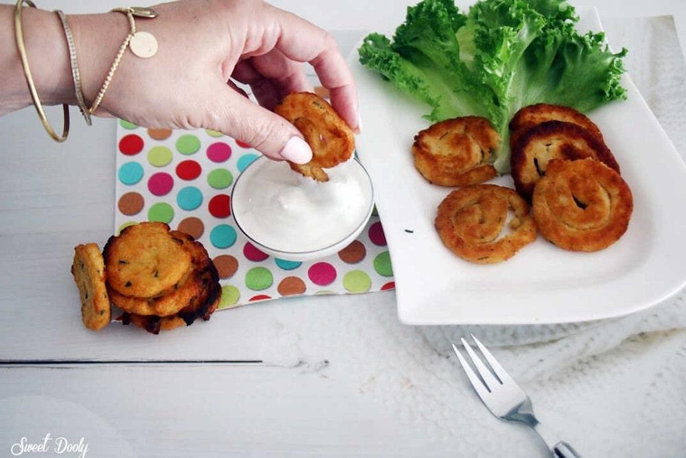לביבות שבלולי תפוחי אדמה