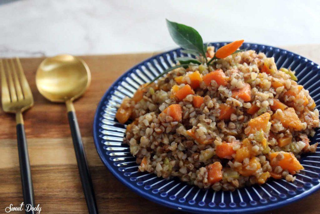 תבשיל כוסמת עם ירקות