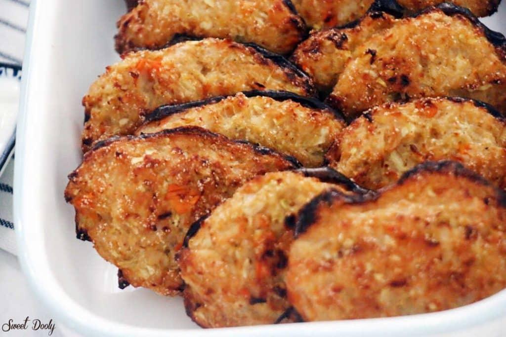 לביבות ירק אפויות בתנור