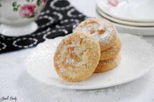 עוגיות מייפל ושקדים פרווה נימוחות