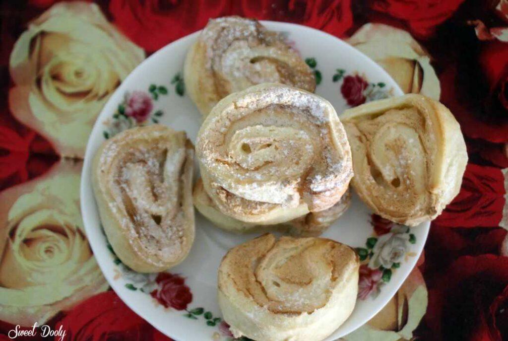 עוגיות שושנים נוסטלגיות פרווה