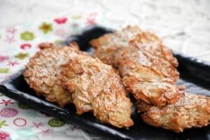 עוגיות ערמות שקדים ללא גלוטן