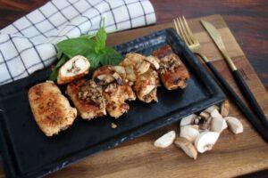 חזה עוף ממולא בפטריות