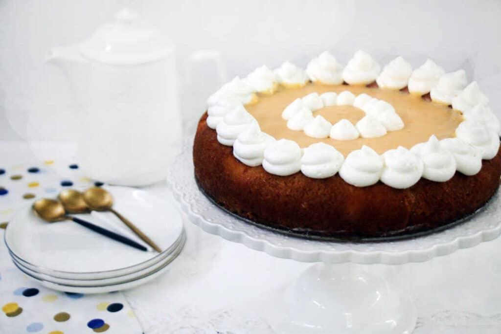 עוגת גבינה וקארד לימון