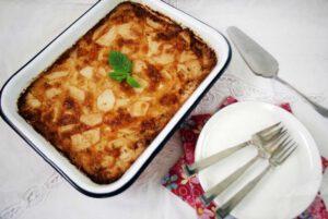 פשטידת תפוחי אדמה וגבינות
