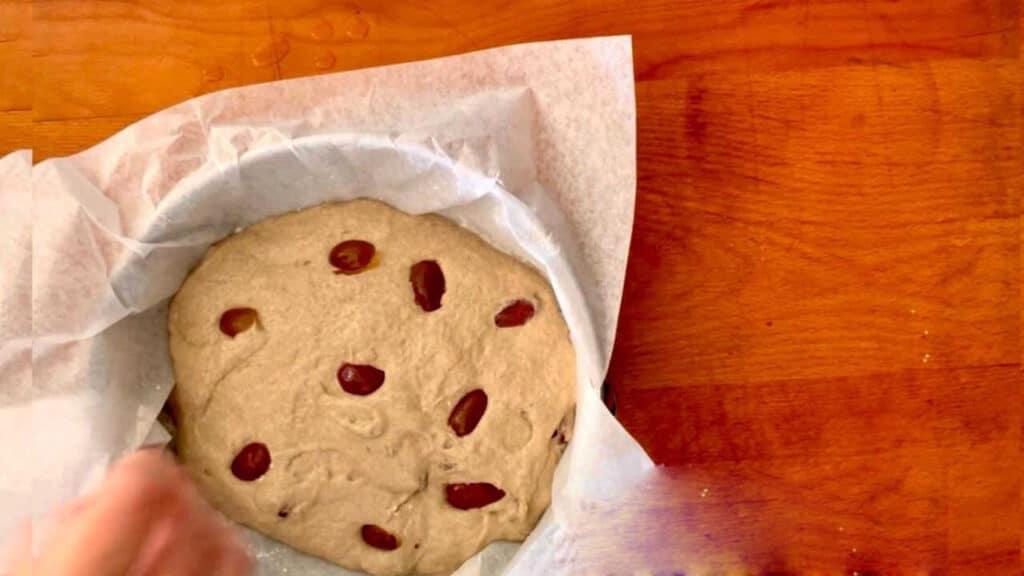 לחם שיפון ללא לישה