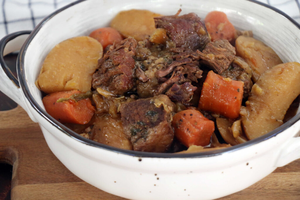 צלי אסדו בבישול עם ירקות