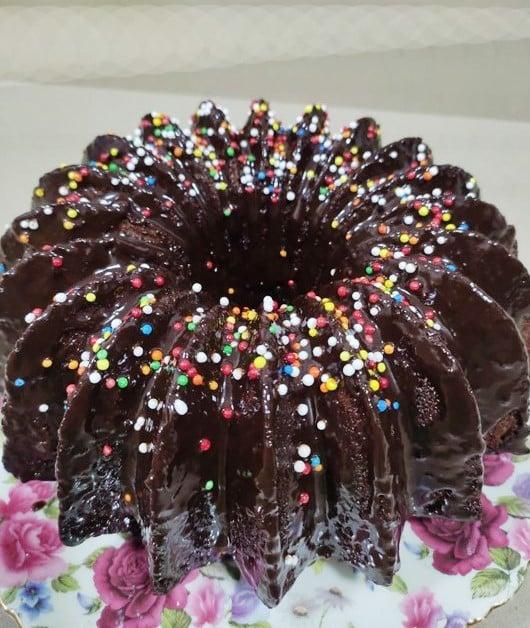 עוגת שוקולד בעשר דקות