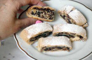 עוגיות מגולגלות ללא סוכר