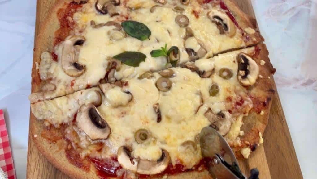 פיצה קינואה ללא גלוטן