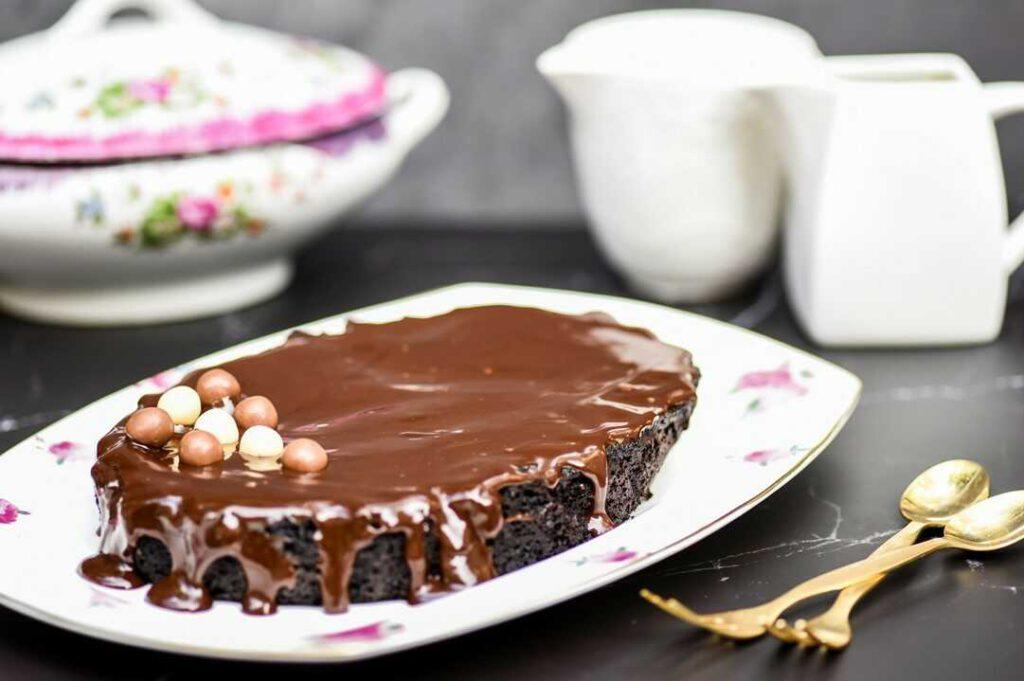 עוגת שוקולד במיקרו ב-5 דקות