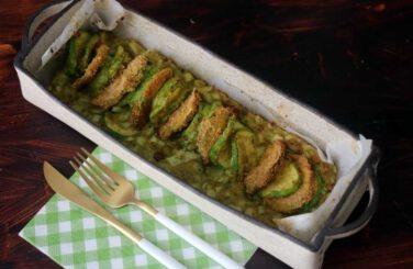 פשטידת קישואים ותפוחי אדמה פרווה