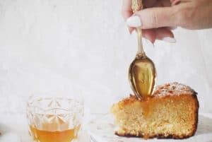 עוגת דבש קלאסית לראש השנה