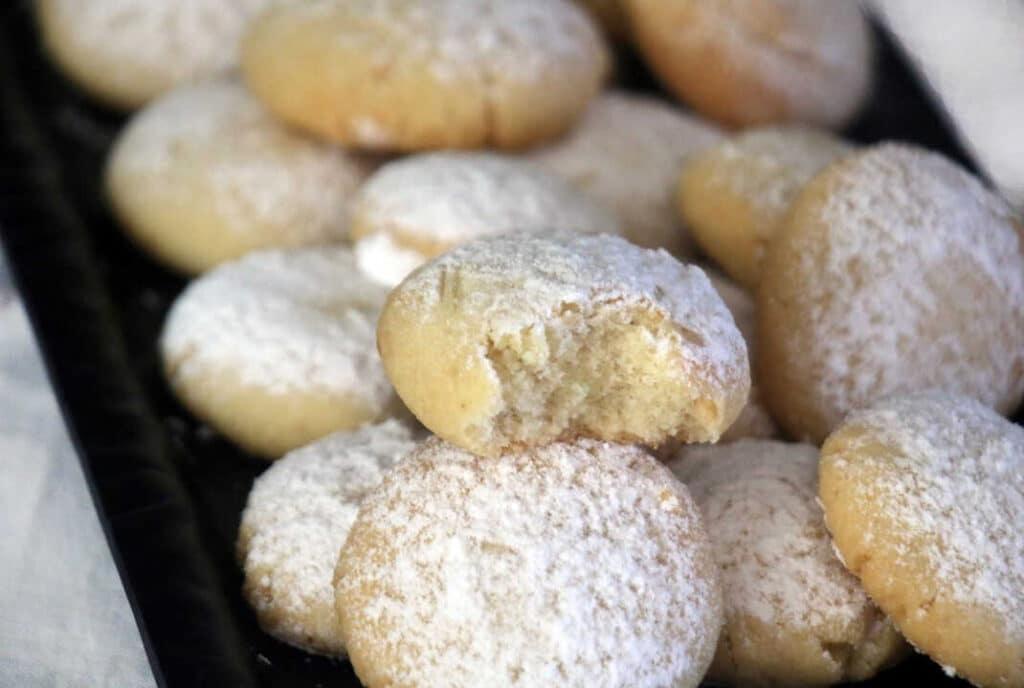 עוגיות קורבייה שקדים ללא סוכר